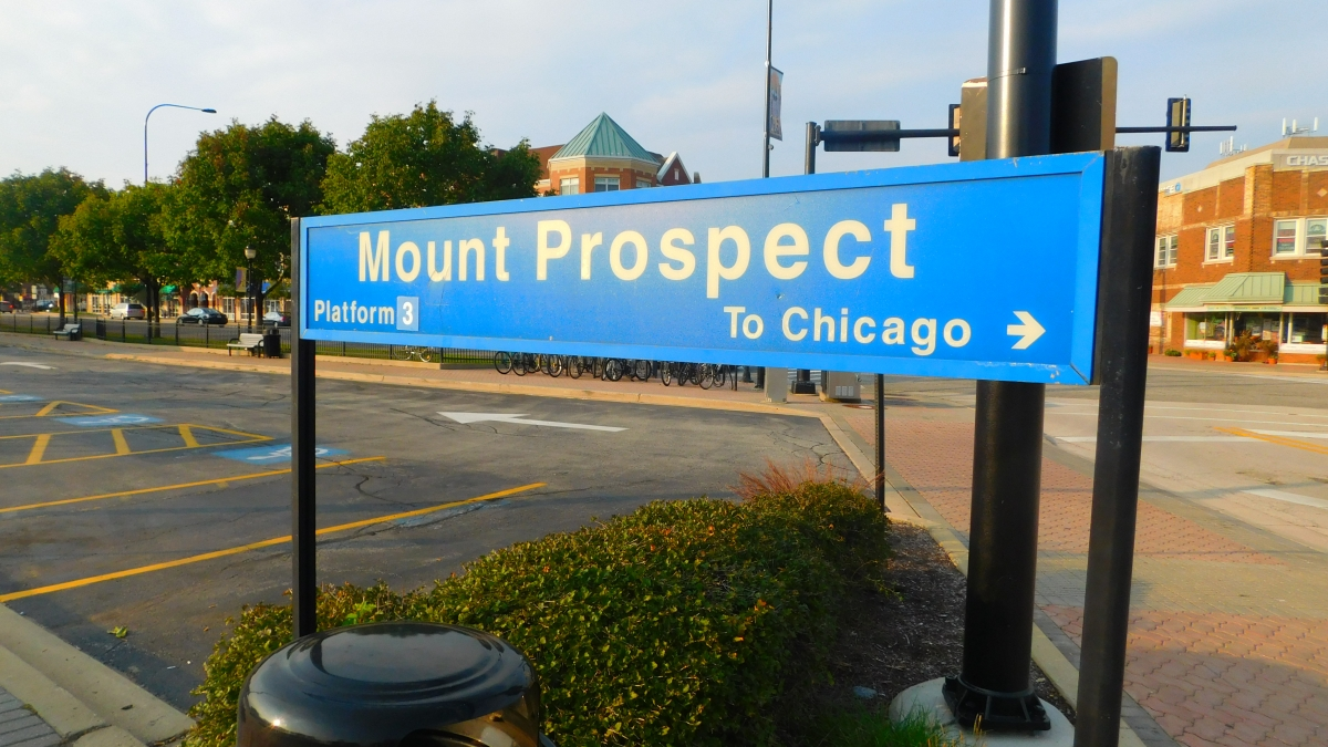 Mount Prospect Metra station