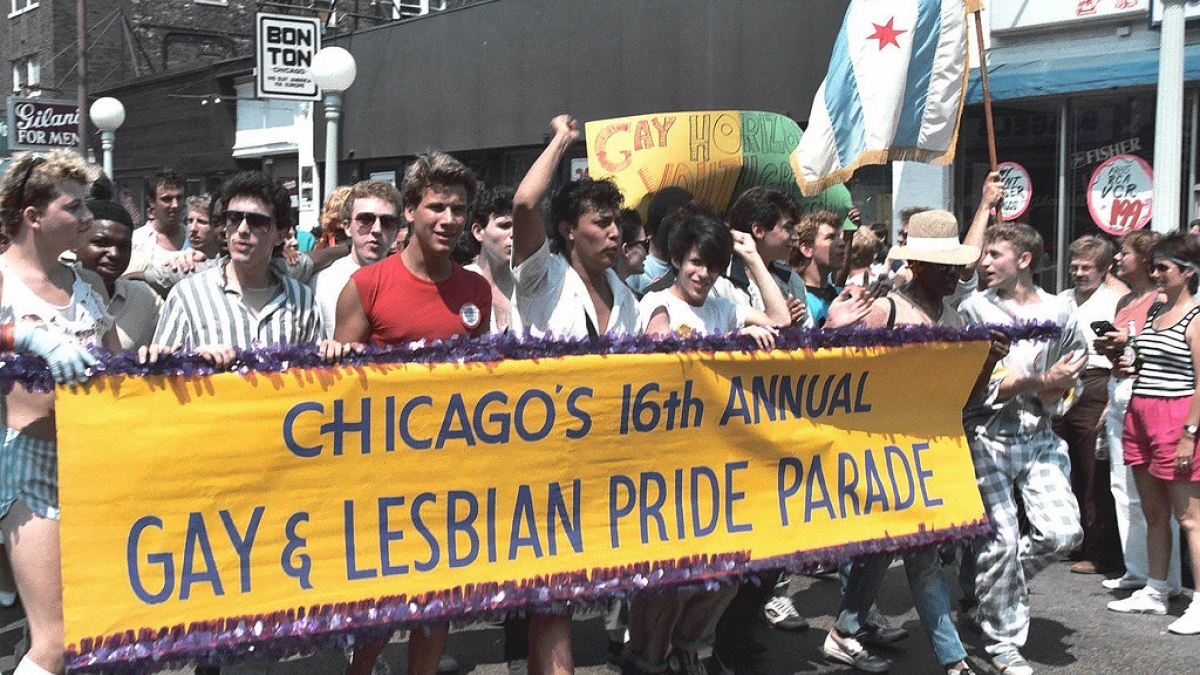 Chicago Pride Parade 1985