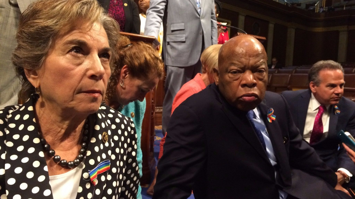 Sit-in On House Floor Demanding Action on Gun Violence