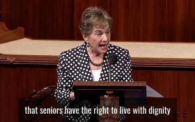 Floor Speech on Protecting Older Workers Against Discrimination Act