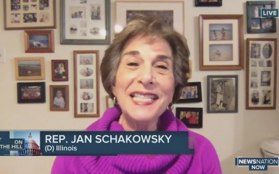 Rep. Jan Schakowsky (D-IL) speaks on record number of women projected to join Congress