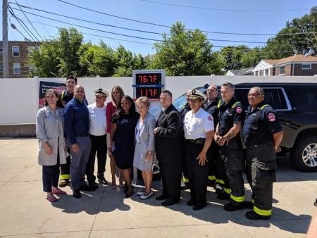 Congresswoman Schakowsky and Chicago Fire Dept. Team with Safety Advocates to Highlight Dangers of Children Dying in Hot Cars for National Heatstroke Prevention Day